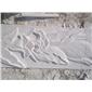 供应石材浮雕,雕塑,雪花白,汉白玉