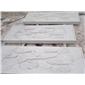 供应石材浮雕,雕塑,花瓶柱,桥栏杆,雪花白,汉白玉,白色大理石。