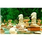 石雕 大理石喷泉 石材喷水小品 广场摆件 大型欧式流水喷泉
