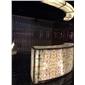 上海透光石生产厂家 玛瑙透光石吧台 透光石灯箱