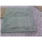 浅绿砂岩蘑菇石