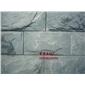 厂家直销 天然青石板200*400蘑菇石 背景墙 文化墙 纯天然无污染