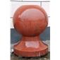 中國紅石材異型材