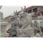 石雕雕塑  石雕麒麟 石雕动物