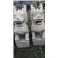 動物雕像石麒麟 園林美化 庭院鎮宅 原生態 全石料,整塊石頭雕成