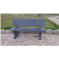 芝麻黑石材--磨光石凳