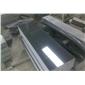 芝麻黑花岗岩G654#石材磨光薄板 芝麻黑654磨光板 中灰麻超薄板