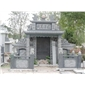 墓碑石雕喷泉,石龙柱,石栏杆,人物雕塑,石雕动物,石凉亭