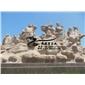 厂家直销石雕晚霞红八仙过海室外园林城市景观雕塑摆件
