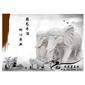 惠安石雕大象 石雕动物摆件 园林景区大象雕塑