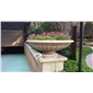 惠安石雕欧式花钵 各类景观雕塑摆件 庭院花钵摆件