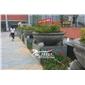 惠安厂家供应各类石雕花钵 大型户外花钵 公园花钵