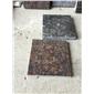 黑金沙、英国棕、红棕、绿星等进口石材