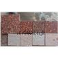 江西石材代代红富贵红映山红石材样品图片