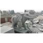 青砂岩动物雕刻