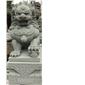 青砂巖石獅