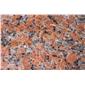 枫叶红花岗岩