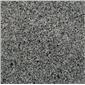 芝麻灰 深灰色花岗岩 灰色路沿石 灰色广场地铺石
