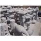 供应公园 景观 石灯 摆件 古建石雕灯笼 六角石灯现货 庭院照明石灯小品01