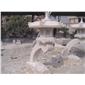供应公园景观石灯摆件 古建石雕灯笼 六角石灯现货 庭院照明石灯小品07