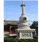石雕佛塔 寺廟古建佛塔 景區裝飾佛塔