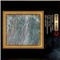 九龙壁独特绿色大理石 KTV高档会所特色天然大理石装饰材料