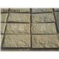 山东米黄色石灰石 石灰石自然面板材