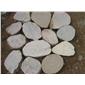 河卵石切片鵝卵石面包石