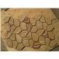 黄色砂岩蘑菇石