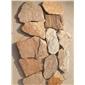 黃木紋亂形石虎皮黃網貼芝麻黃亂型石