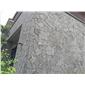 海仓-玄武岩-火山岩-洞石-不规则板材组合-天然大理石2