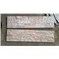 杂色白石英平板文化石