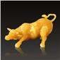 米黃玉 華爾街牛