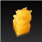 米黄玉龙型印章