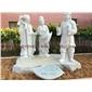 石雕二十四孝 故事小说人物雕像 公园人物景观雕像