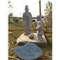 石雕二十四孝 人物雕像摆件 传统人物雕像