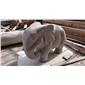 出口欧洲石雕动物石雕大象 欧美园林石雕小动物