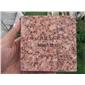江西石材火烧板-富贵红映山红石材光泽红g683石材批发