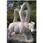 石雕动物 公牛动物雕像 百态动物雕像