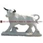 石雕动物 公牛雕像 动物公牛摆件