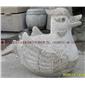 石雕动物 园林动物雕像 鸭子动物雕像