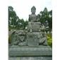 石材观音雕塑 寺庙佛像雕塑 坐像观音 菩萨石雕
