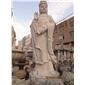 供应妈祖雕像 天然石材人物雕塑 花岗岩工艺品 石雕观音 莲花观音