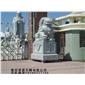 景观石狮子 青石狮子 北京狮雕塑 石材狮子加工