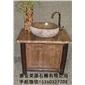 蒙古黑石洗手盆 天然石材洗手盆 别墅石材洗手盆加工 8899