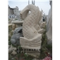 园林景观海马 石雕海马 景观动物雕刻