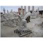 供应猫头鹰雕塑 石雕猫头鹰  园林景观石雕