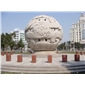 石材景观风水球 花岗岩浮雕石球