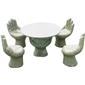 供应订做石桌石凳 园林桌椅 景观桌椅 手掌凳