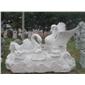 定制天鹅石雕 动物石雕 园林雕塑  园林雕刻,动物 人物石雕 喷水池 花钵栏杆  花岗岩石材雕塑